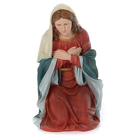 Holy Family for 80 cm nativity scene in painted resin s4