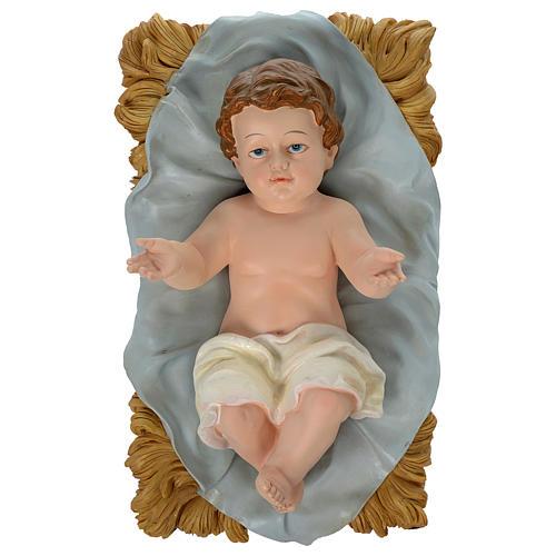 Natividad 100 cm resina pintada 2