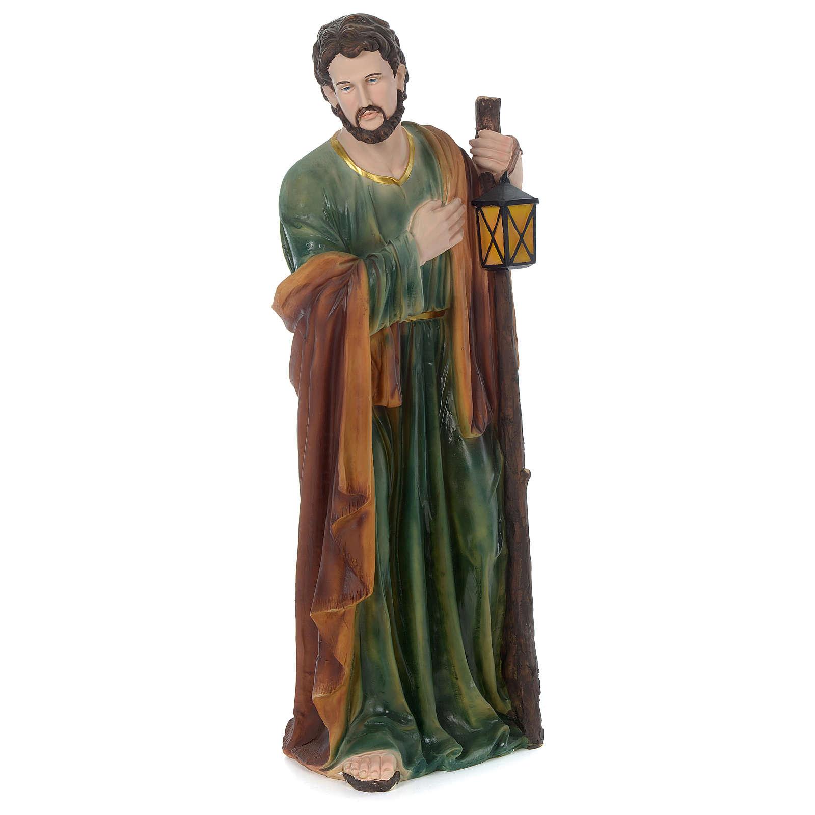 Nativité 100 cm résine peinte 3