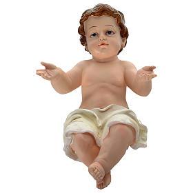 Nativité 100 cm résine peinte s6