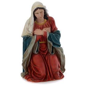 Natividad resina pintada con figuras de altura media 150 cm s3