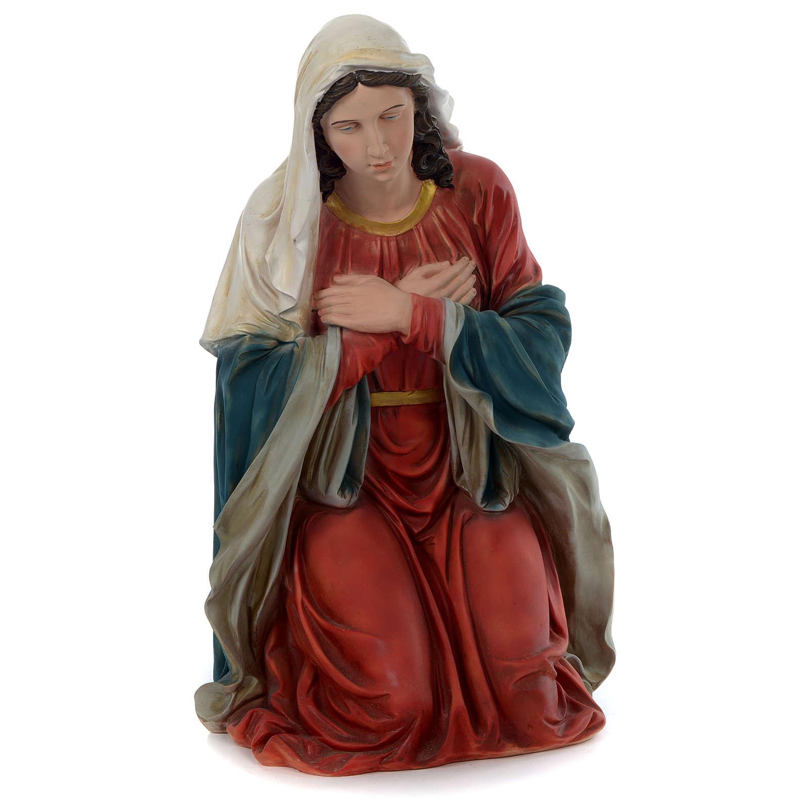 Nativité 150 cm résine peinte 3