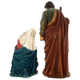 Nativité 150 cm résine peinte s7