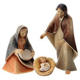 Nacimiento: Natividad La esperanza con cuna madera Val Gardena