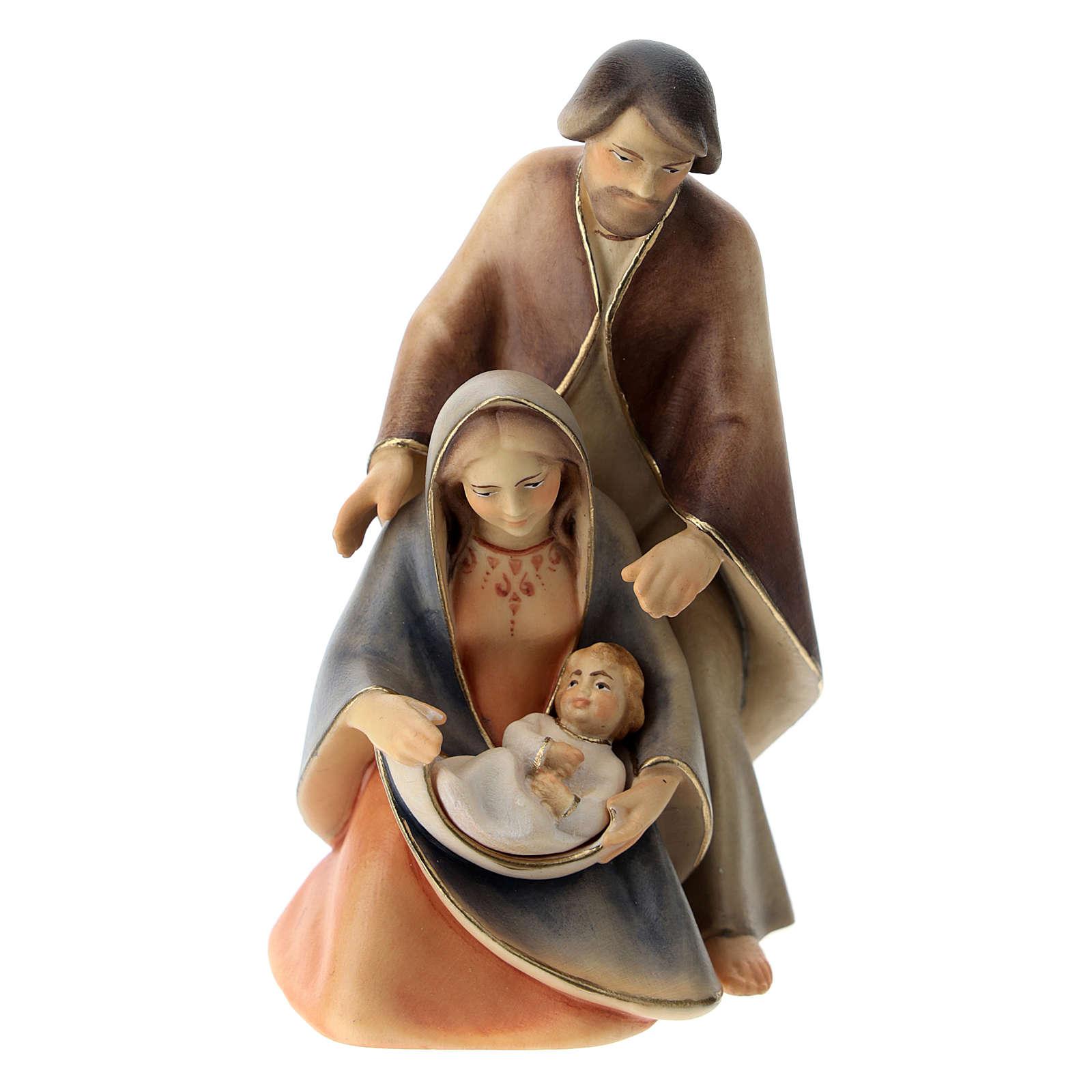 Natività La speranza con culla legno Valgardena 3