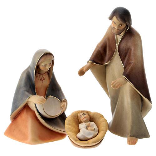 Natività La speranza con culla legno Valgardena 1