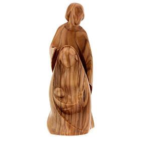Natividad La alegría dos piezas madera olivo Val Gardena s1