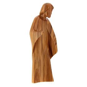 Natività La gioia due pezzi legno ulivo Valgardena s3