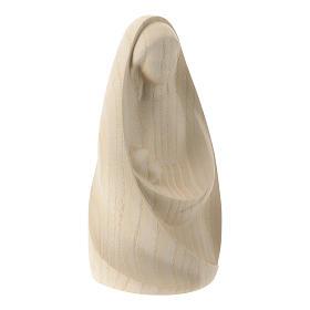 Natività La gioia due pezzi legno frassino legno naturale Valgardena s5