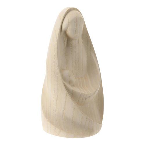 Natività La gioia due pezzi legno frassino legno naturale Valgardena 5