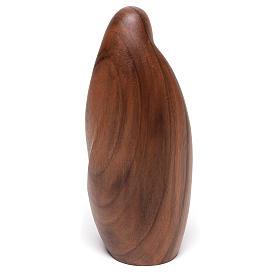 Natività La tenerezza legno noce legno naturale Valgardena s5