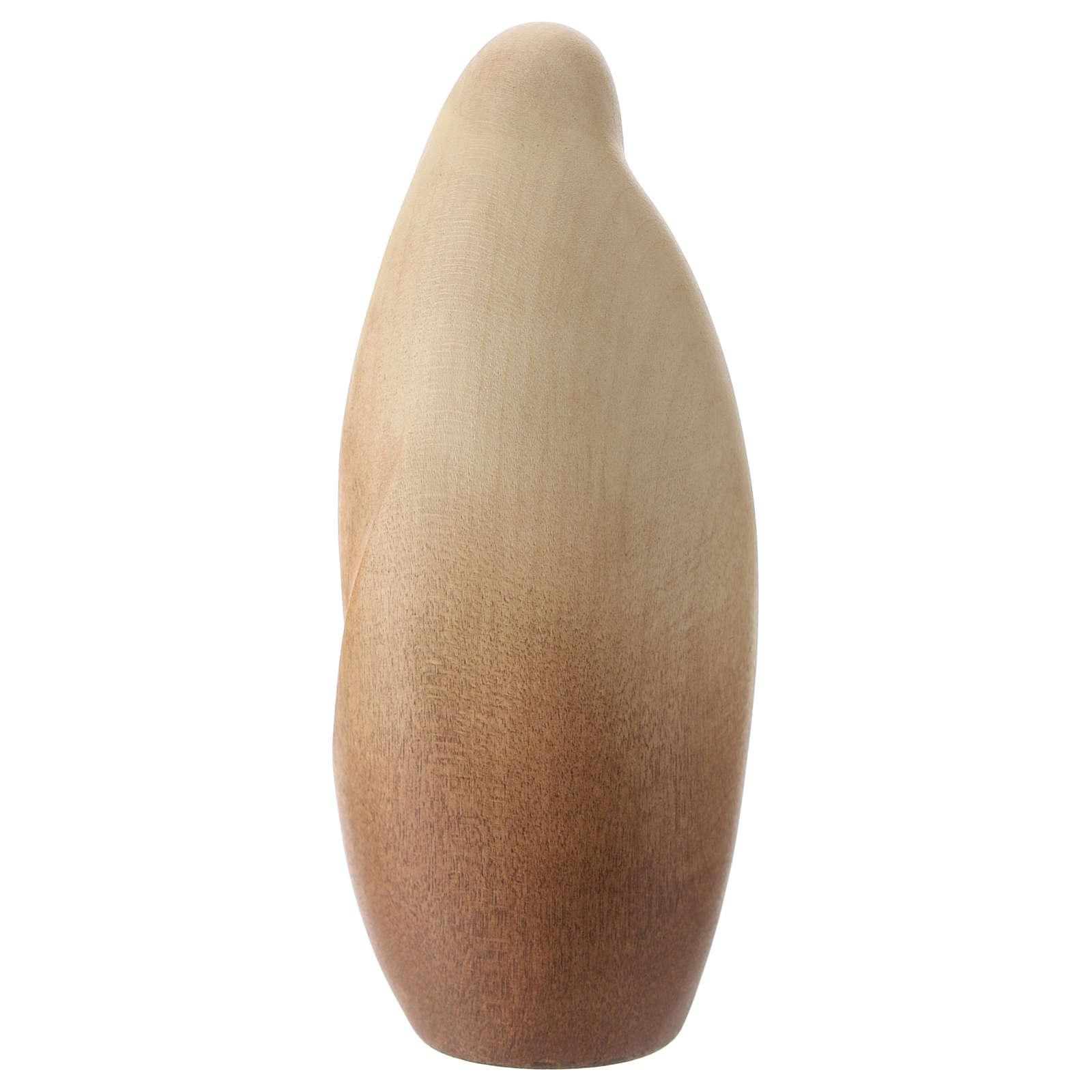 Natività La tenerezza legno acero legno naturale Valgardena 3