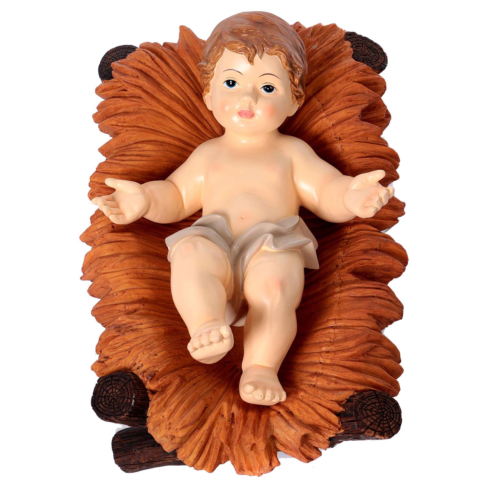 Natividade Resina Pintada 100 cm 5 Figuras 3
