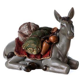 Multicolour Nativity Scene in 8 pieces 28 cm s5