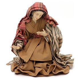 Nativity scene statues Holy Family Eastern style in resin 30 cm s3