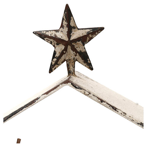 Scena Narodzin 20 cm, styl Shabby Chic, w lampionie 40x30x15 cm 4