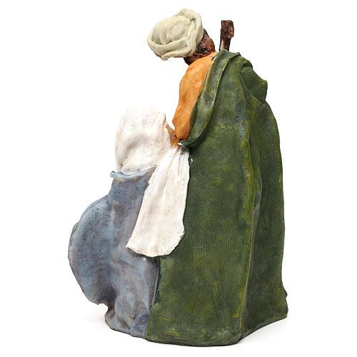 Natività in resina stile arabo per presepi di 25 cm 5