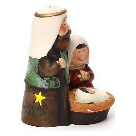 Natividad estilo árabe línea niño con iluminación 14 cm s3
