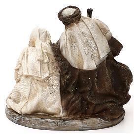 Natividad estilo árabe resina 15 cm s5