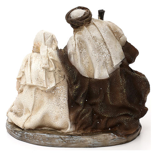 Natividad estilo árabe resina 15 cm 5