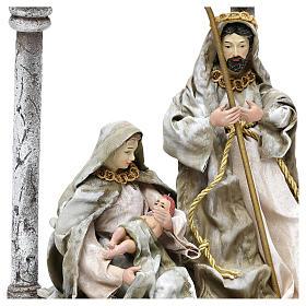 Natividad con arco para belenes de 18 cm s2