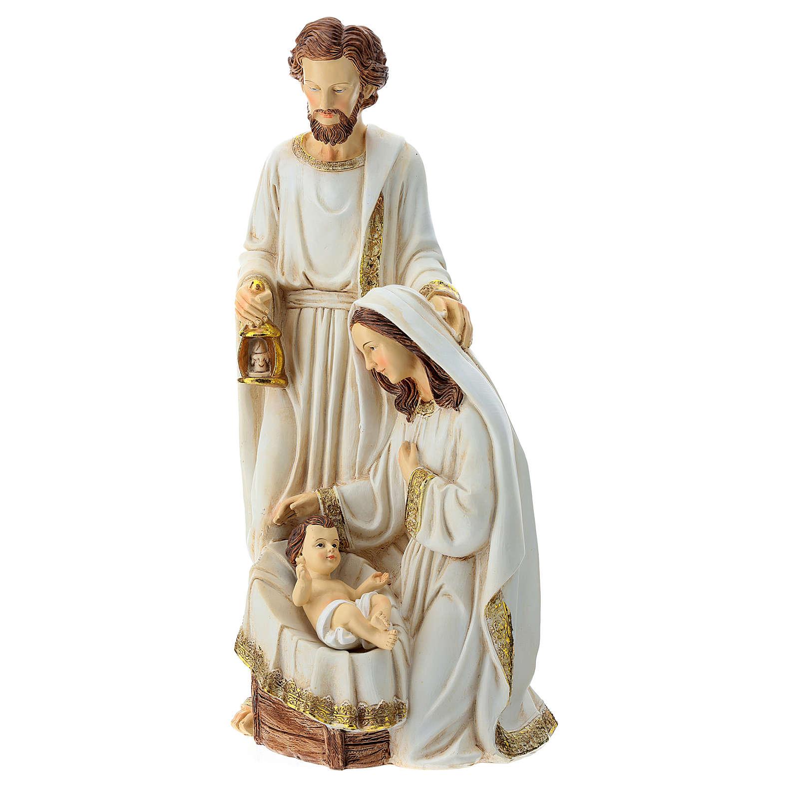 Nativity 2 pieces 40 cm Ivory finish 3