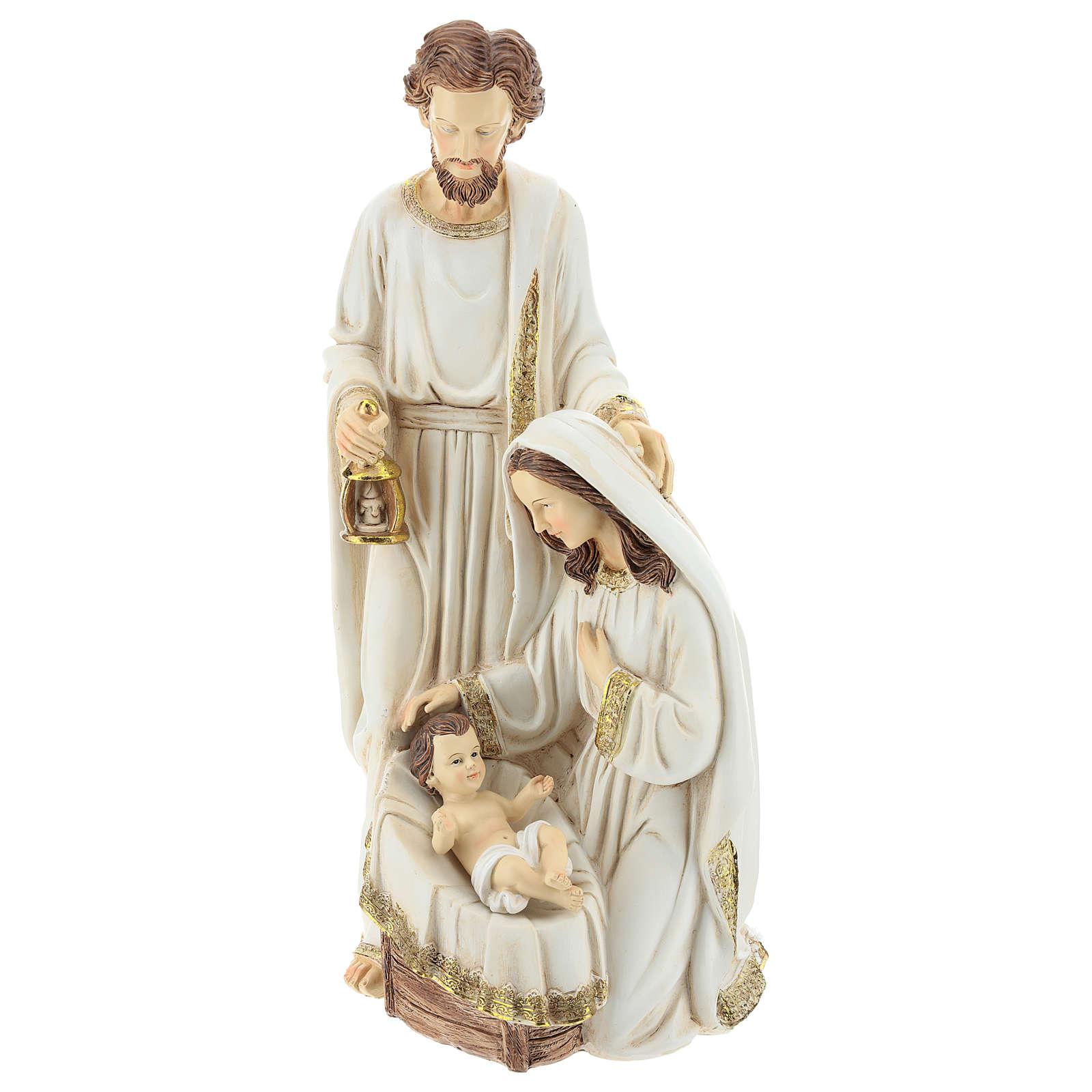 Natividad 2 piezas 40 cm acabado Marfil 3