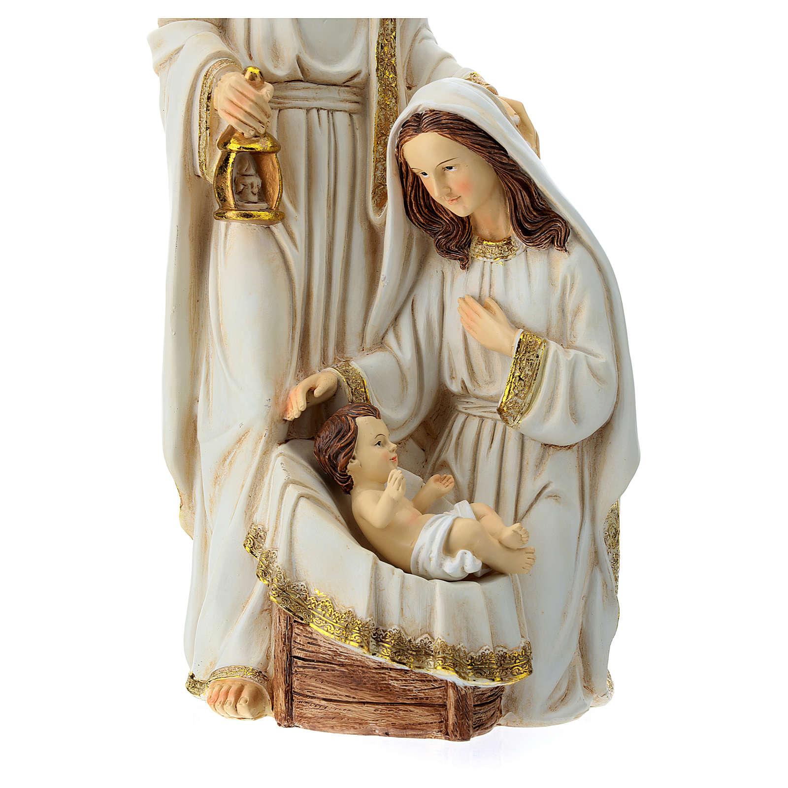 Nativité 2 pcs 40 cm finition ivoire 3