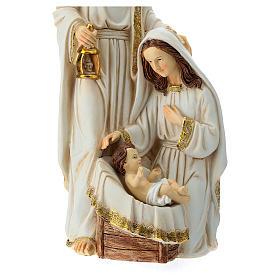 Nativité 2 pcs 40 cm finition ivoire s7