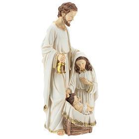 Holy Family 2 pcs 40 cm Ivory finish s4