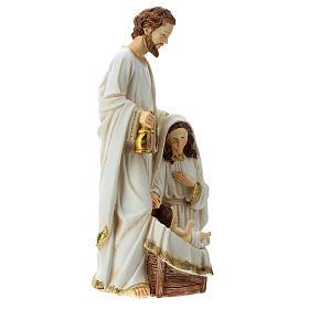 Holy Family 2 pcs 40 cm Ivory finish s9