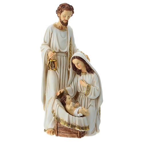 Holy Family 2 pcs 40 cm Ivory finish 6