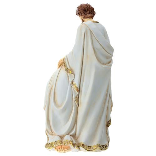 Holy Family 2 pcs 40 cm Ivory finish 10
