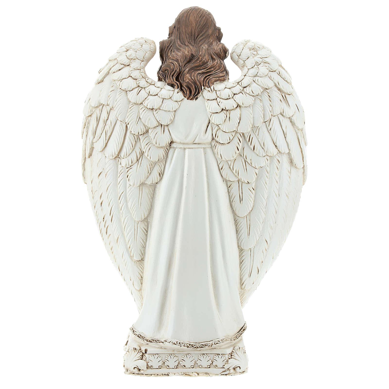 Escena natividad entre las alas del ángel 23 cm 3