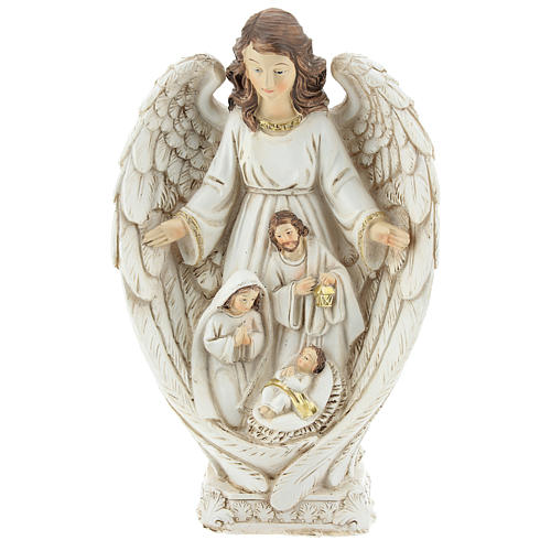 Angel with Holy Family 23 cm 1