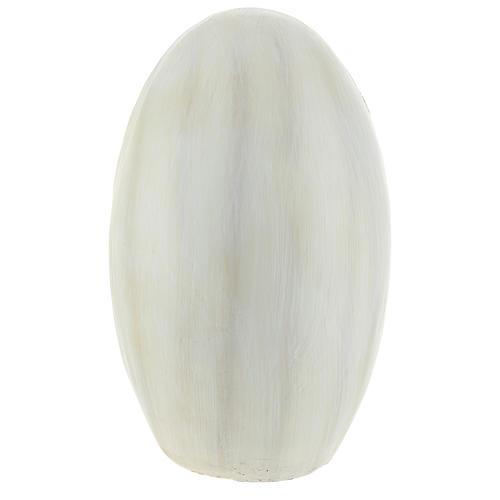 Natività con sfondo ovale 23 cm resina 5