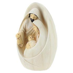 Natividad fondo ovalado 17 cm resina s3