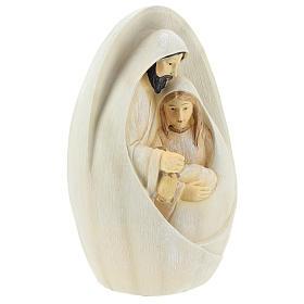 Natividad fondo ovalado 17 cm resina s4