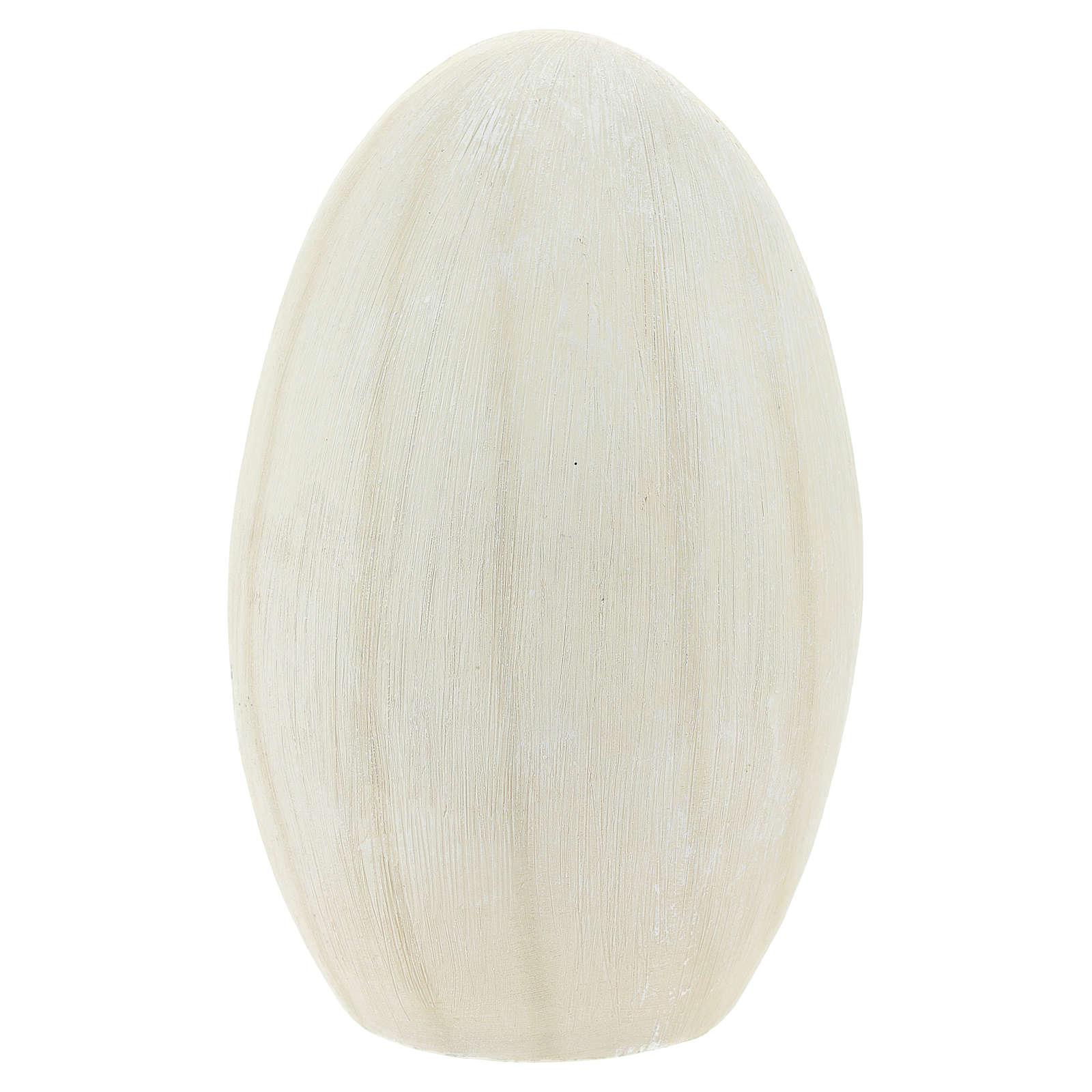 Natività sfondo ovale 17 cm resina 3