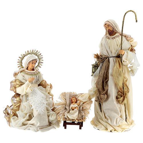 Natividad oro y beis resina 36 cm 1