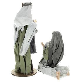 Nativité 40 cm en style Shabby Chic s5