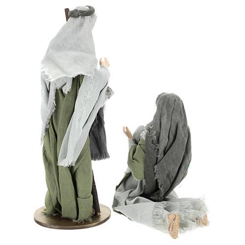 Nativité 40 cm en style Shabby Chic 5