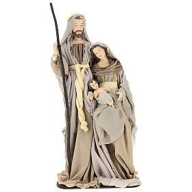 Nativity 60 cm in Shabby Chic style in resin  s1