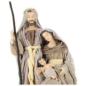 Nativity 60 cm in Shabby Chic style in resin  s2