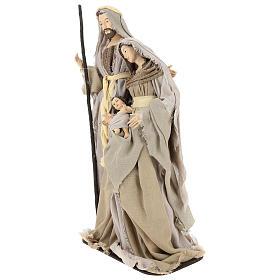 Nativity 60 cm in Shabby Chic style in resin  s3