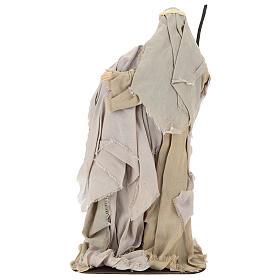 Nativity 60 cm in Shabby Chic style in resin  s5
