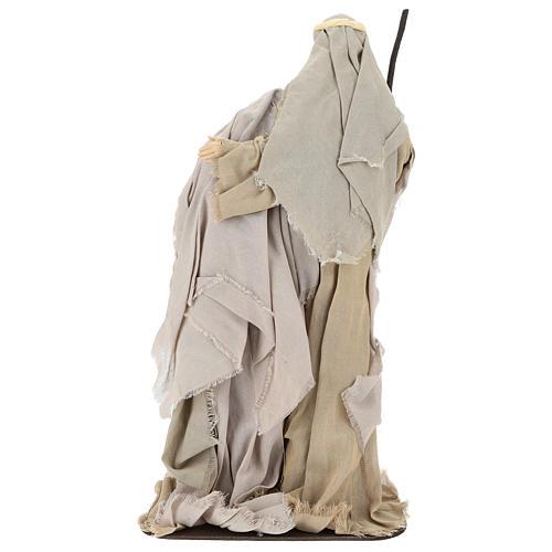 Nativity 60 cm in Shabby Chic style in resin  5