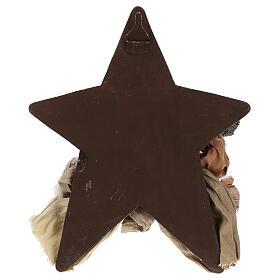Scena Narodzin 30 cm z żywicy z gwiazdą w tle s4