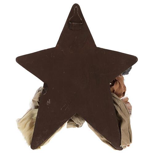 Scena Narodzin 30 cm z żywicy z gwiazdą w tle 4