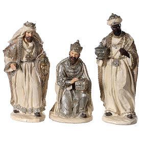 Nativity scene 6 characters in resin 30 cm s3